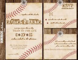 baseball wedding invitations the vintage baseball collection set printable wedding invitation