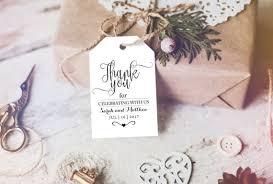 thank you tags thank you tag wedding printable wedding favor tag wedding