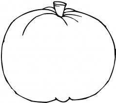 blank pumpkin coloring page free printable pumpkin coloring pages