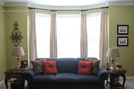Unique Window Treatments Tallgrass Design The Problem With Bay Windows
