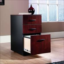 furniture three drawer locking file cabinet wooden filing