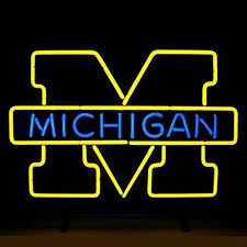 Neon Bar Lights Michigan Neon Light Michigan Wolverines Neon Light Michigan Neon