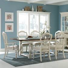 Gray Dining Room Table Sauder New Grange Dining Table White Pine Finish Walmart Com