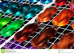 car paint samples stock photo image 56435334