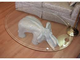 elephant end tables ceramic coffee table elephant coffee table elephant unique table three