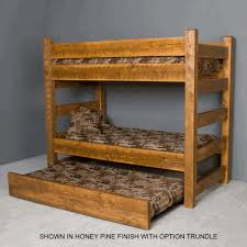 Barnwood Bunk Beds Viking Timberwood Barnwood Bunk Bed