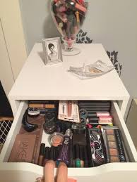 home design makeup storage drawers ikea concrete interior