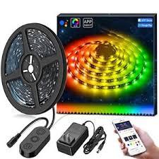 music led strip lights dreamcolor music led strip lights built in digital ic minger 16 4ft
