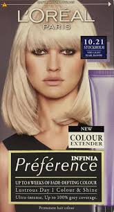l u0027oreal infinia preference 10 21 stockholm very light pearl blonde