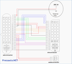 vga wiring schematic wiring download free printable wiring