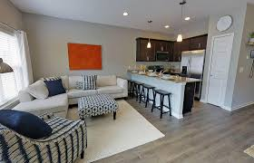 living and kitchen design mosaic of auburn townhomes pristine properties group