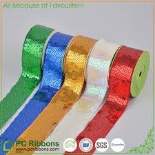 sequin ribbon pc hot sale sequin grosgrain ribbon hight quality sequin ribbon