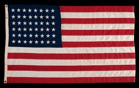 Flags Made In Usa Jeff Bridgman Antique Flags And Painted Furniture 48 Stars