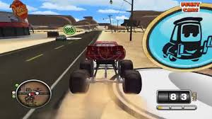 monster truck video games cartoon cars series 11 lightning mcqueen monster truck