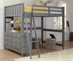 space full size loft bed frame u2014 modern storage twin bed design