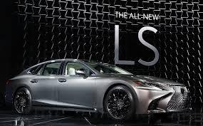 lexus sedan usa 2018 lexus ls flagship sedan gets sporting redesign chicago tribune
