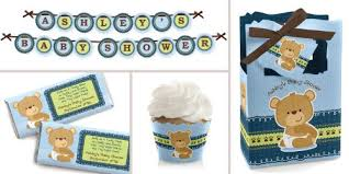 baby boy shower theme baby boy teddy baby shower theme bigdotofhappiness
