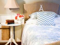 Diy Headboard Upholstered by How To Make An Upholstered Headboard Hgtv