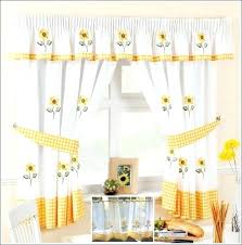Lemon Nursery Curtains Yellow And White Curtains Image Of Yellow And White Curtains For