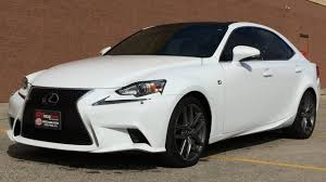 lexus 2014 white 2014 lexus is 250 f sport awd executive package w leather