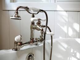Bathtub Faucet Shower Bathroom Cool Bathroom Faucets With Antique Brass Deck Mount