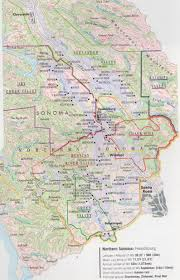 Sonoma Winery Map Sonoma Winter Wineland Ijamming Net