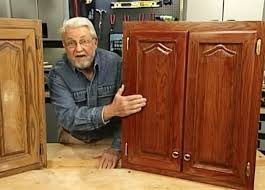 how to remove polyurethane from kitchen cabinets how to refinish kitchen cabinets without stripping