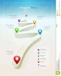 road infographic design template royalty free stock image image