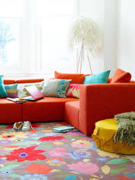 Yellow Round Area Rugs Living Room Stunning Colorful Living Room Rug Pictures With