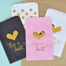 candy bags is sweet gold foil candy bags