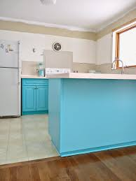Kitchen Cabinets 2014 Kitchen Progress Turquoise Cabinets Check Dans Le Lakehouse