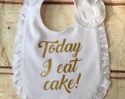 birthday bib baby girl 1st birthday bib sprinkle bib 1st birthday cake
