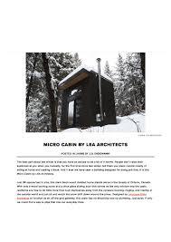 micro cabin lea