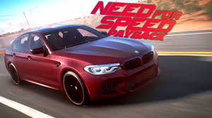 need for speed payback 2018 bmw m5 racing gameplay youtube