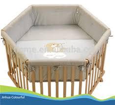 new product hexagonal playpen liner crib bumper liner buy crib
