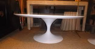 Saarinen Coffee Table Tulip Coffee Table By Saarinen For Knoll For Sale At 1stdibs