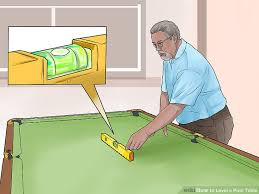 How Much To Refelt A Pool Table by How To Level A Pool Table 14 Steps With Pictures Wikihow