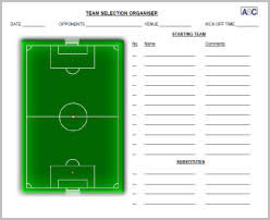 team sheet template templates franklinfire co