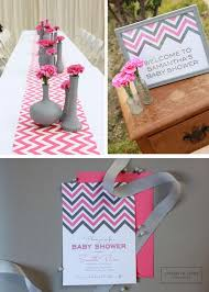 pink and gray baby shower baby shower centerpieces picmia