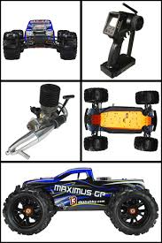 rc nitro monster trucks dhk maximus gp 1 8 nitro 4wd rtr monster truck