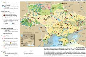 East Europe Map by Eastern Europe Environment And Security Initiative