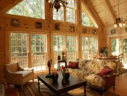 Interior Log Home Pictures by Log Cabin Pictures Rockbridge Southland Log Homes