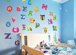 alphabet wall letters spell girls name bedroom wall decals bmt live