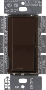 lutron dv 600p br diva 600 watt dimmer brown wall dimmer