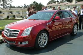 2009 cadillac cts sport wagon not available in metallic pea