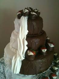 wedding cake hashtags half and half wedding cake recipe just a pinch recipes