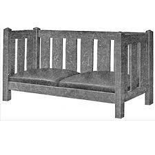 free plan mission settee finewoodworking