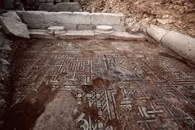 Ancient Origins Of Halloween Exquisite Late Antique Floor Mosaic Discovered In Roman Doliche On