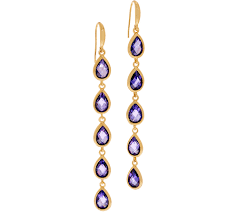 earrings images melinda drop earrings selena page 1 qvc