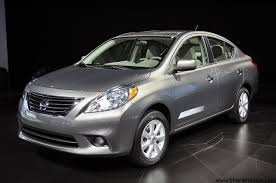 nissan sedan 2012 2012 nissan versa sedan launched in nyc u2013 it u0027s the sunny